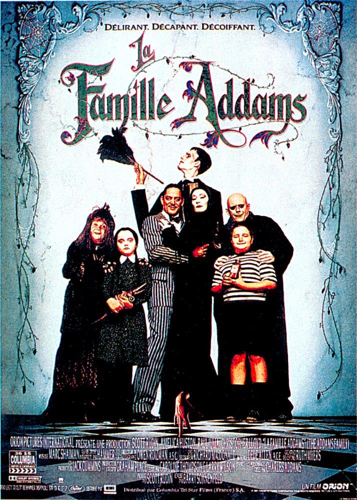 Les liens de parenté avec la famille Addams