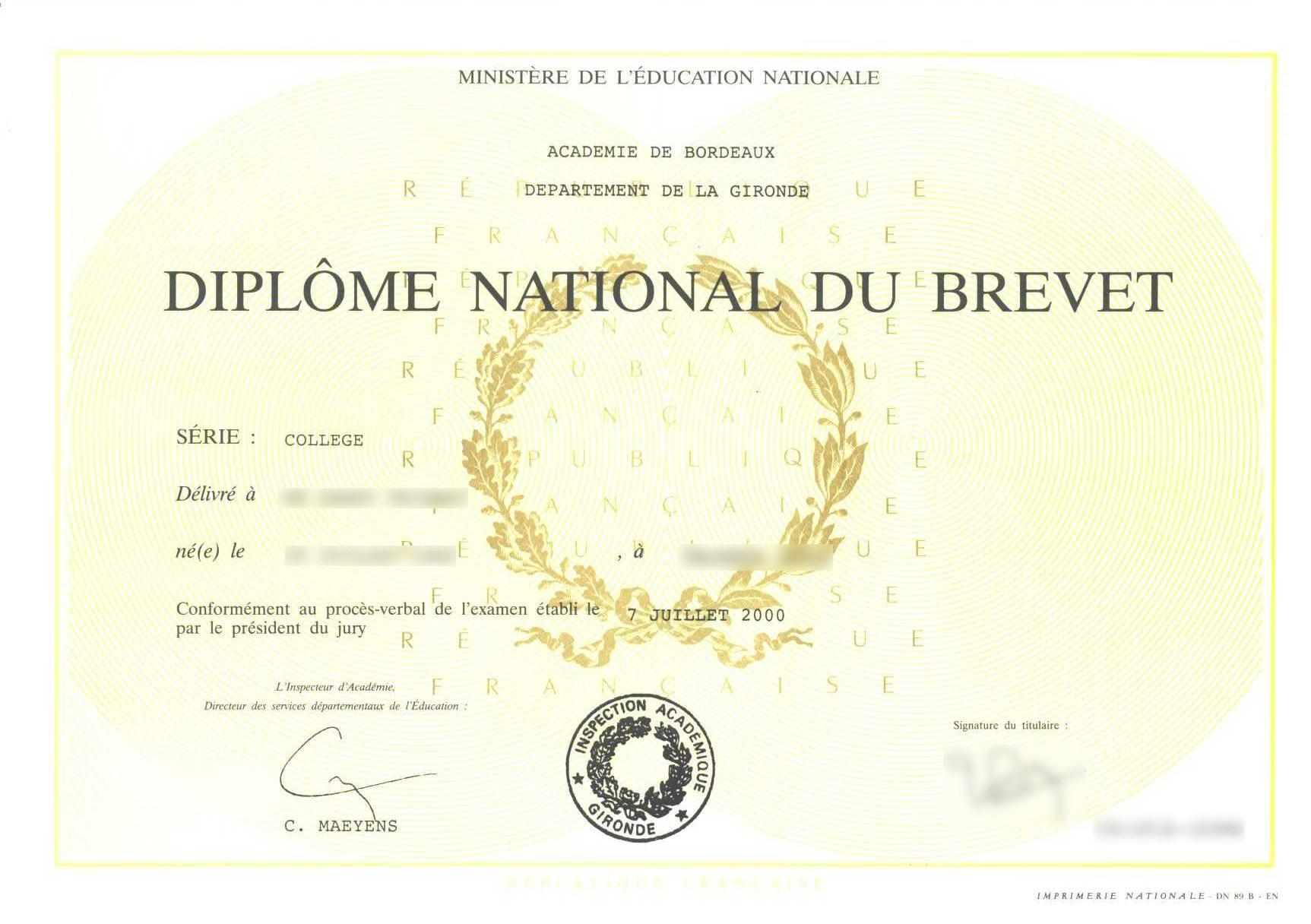 Programme de révisions : sujets de brevet en français