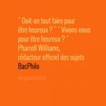 Corrigés du Bac Philo 2014 séries L, ES et S