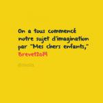 Annale Brevet 2014 en Français