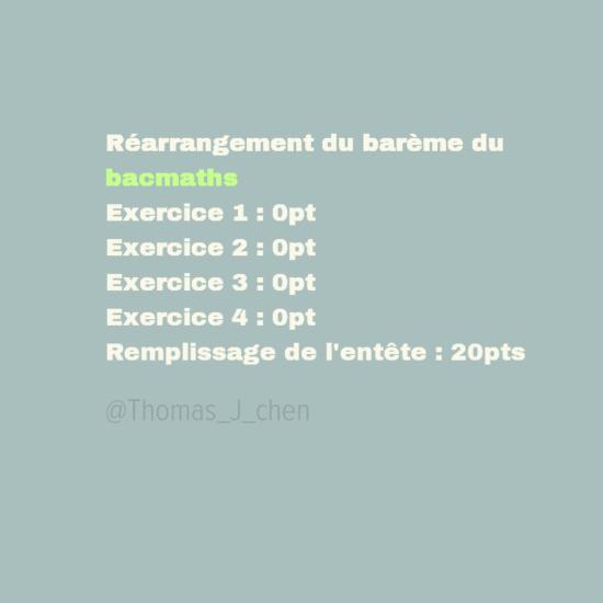 bac maths serie s france