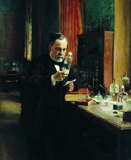 Louis Pasteur et les micro-organismes