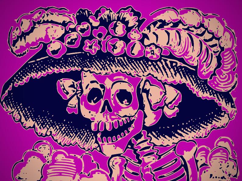 La fête des morts au Mexique