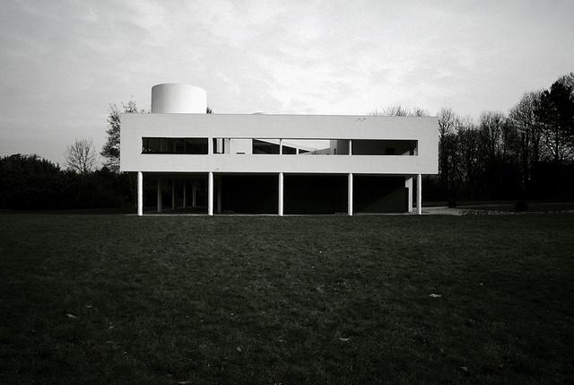 Arts de l'espace : Villa Savoye de Le Corbusier
