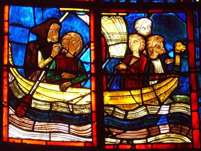 Le vitrail : Cathédrale Saint-Étienne de Bourges
