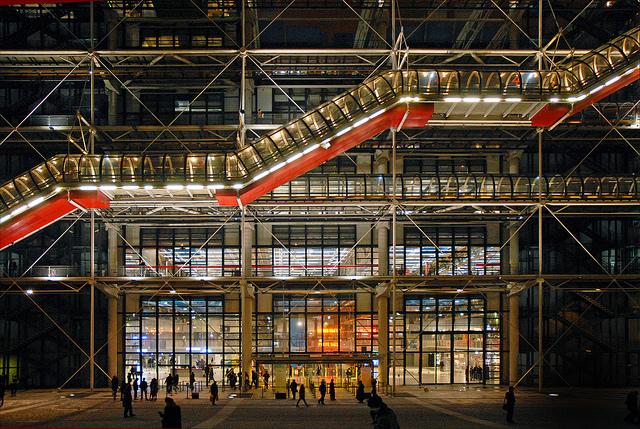 Brevet 2015 – Histoire de l'Art : Centre Pompidou Paris