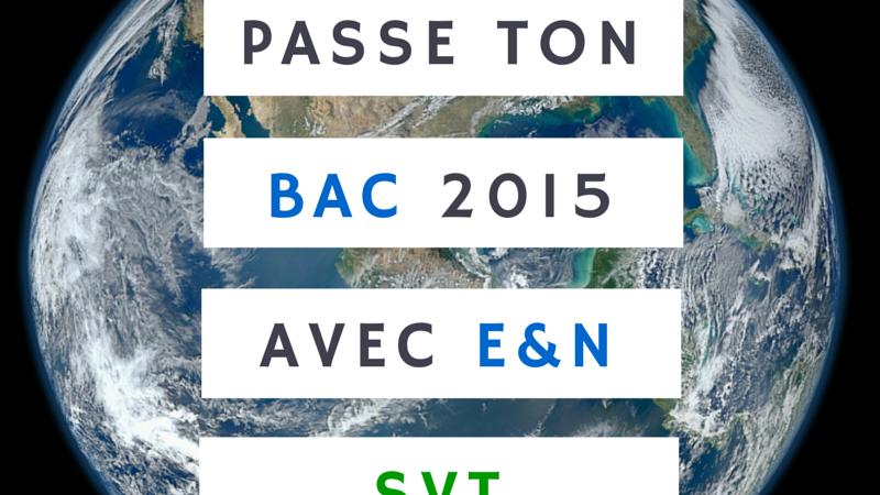 Bac 2015 SVT – Sujet Nouvelle calédonie 2014