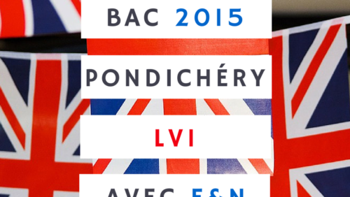 Bac 2015 Pondichéry LV1 – Anglais