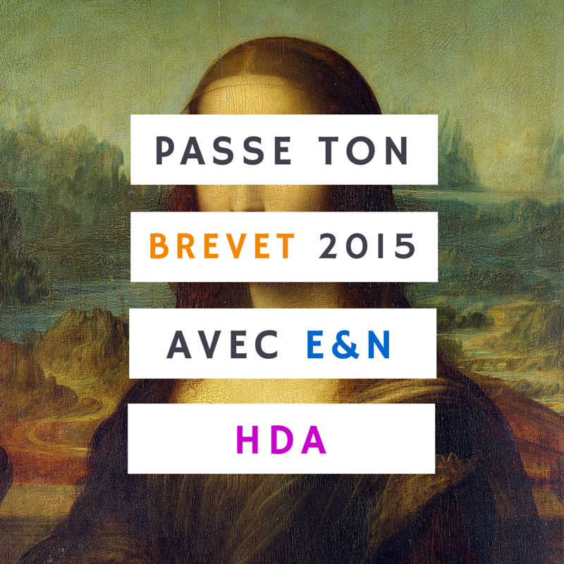 Histoire des arts au Brevet 2015