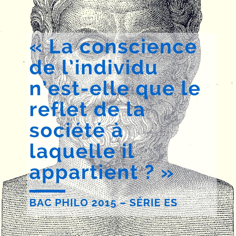 Bac Philo 2015 – Série ES