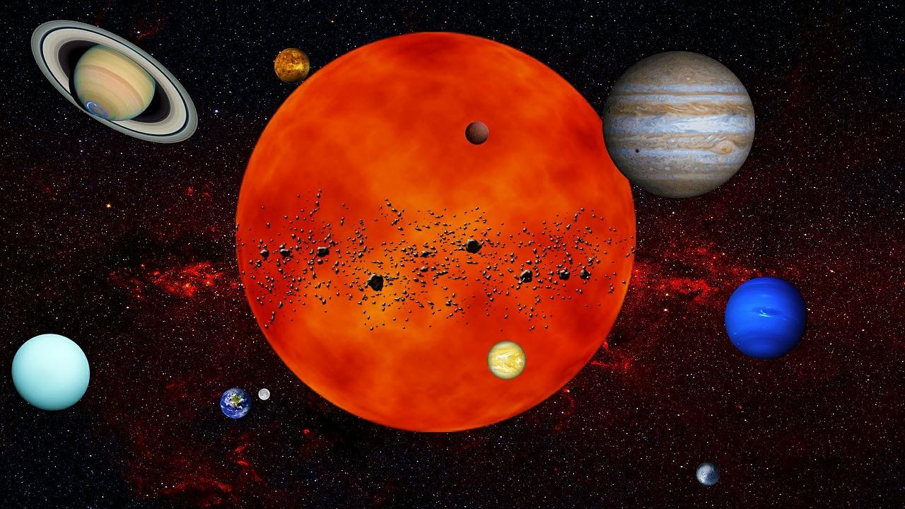 Le système solaire – SVT Seconde