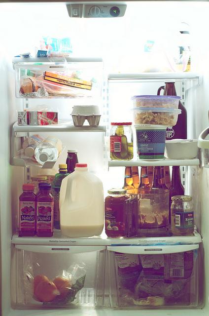Bien ranger le réfrigérateur