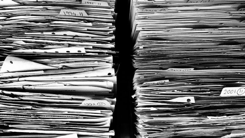 Le cycle de vie d'un produit : le papier